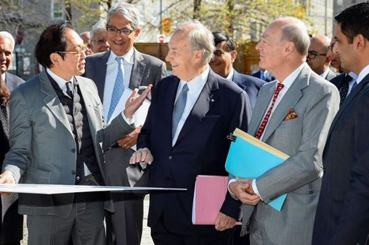 Official Video: His Highness the Aga Khan in Prime Minister's Office, Parliament Hill, Ottawa