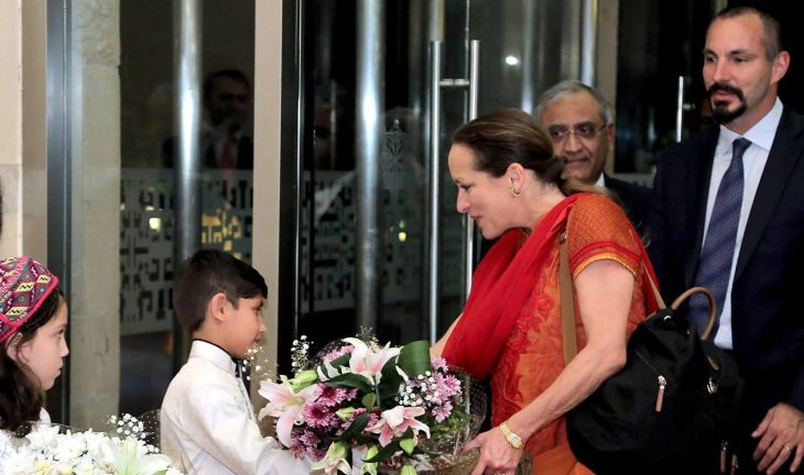 Princess Zahra and Prince Rahim Aga Khan arrive in Pakistan, visit Gilgit Medical Complex