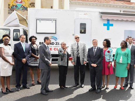 Aga Khan University Hospital Nairobi donates mobile clinic