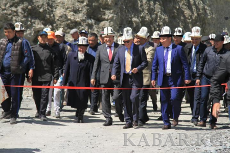 Aga Khan Foundation funded bridge reconnects communities in Osh Oblast, Kyrgyzstan