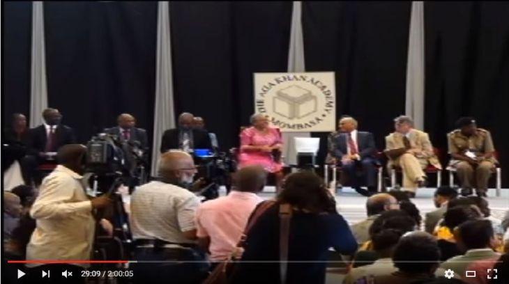 Video: Aga Khan Academy Mombasa's 10th graduation ceremony