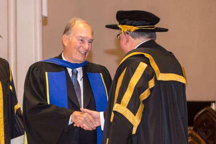 St. Mike's Pontifical Institute honours Muslim leader