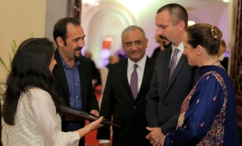 Princess Zahra and Prince Rahim at Ismaili National Council Pakistan's Institutional Dinner