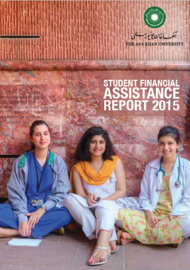 Aga Khan University Hospital Student Financial Assistance Report for 2015