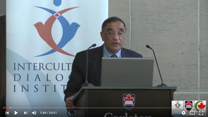 Dr. Ali Asani, Harvard University - Averting Violent Extremism | Carleton Centre for the Study of Islam