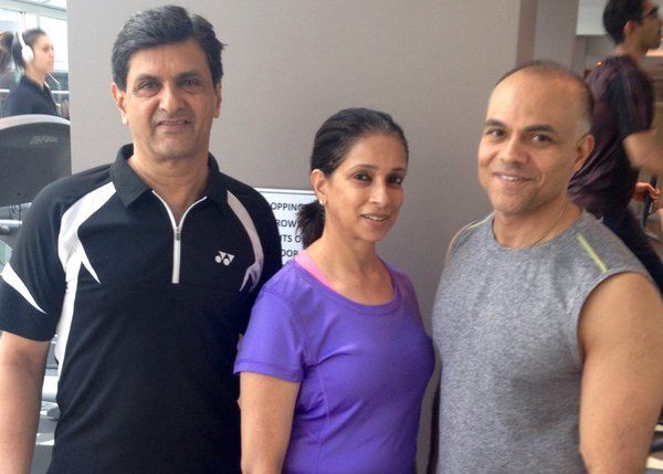 Farhan Dhalla, Canada's Best Fitness Instructor, trains Bollywood actress Deepika Padukone and her family