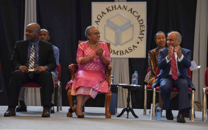 First Lady of Kenya, Margaret Kenyatta, Guest of Honour at the Aga Khan Academy Mombasa's 10th Graduation Ceremony