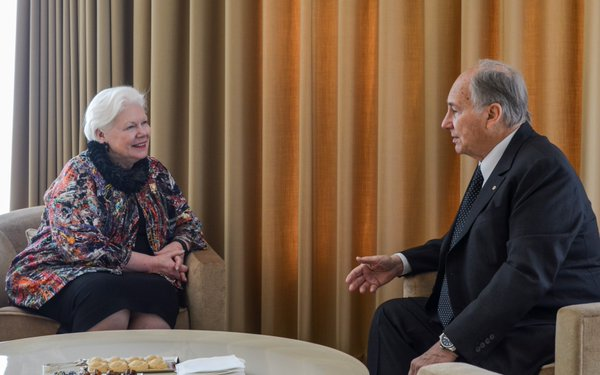 Lieutenant Governor of Ontario meets His Highness the Aga Khan