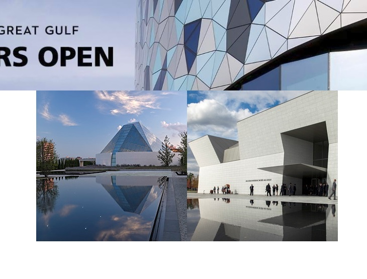Doors Open Toronto announces exciting lineup of buildings and programming - Visit Ismaili Centre & The Aga Khan Museum