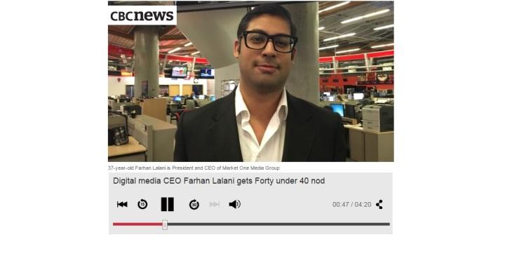 Story of Digital media CEO Farhan Lalani | CBC News