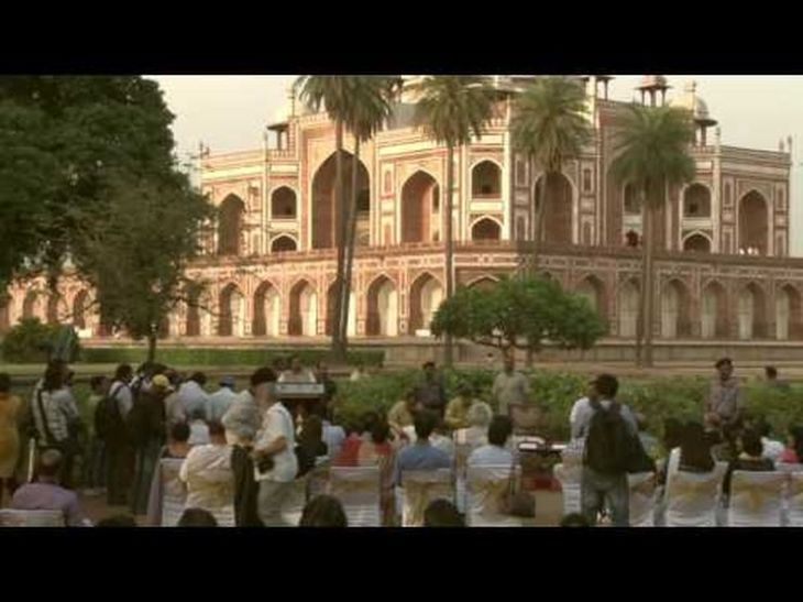 Video: Unveiling of the Gold Finial of Humayun's Tomb - Restored by the Aga Khan Trust for Culture