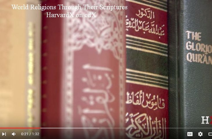 Islam Through Its Scriptures: Professor Ali Asani's Harvard's Free Online Course about to start