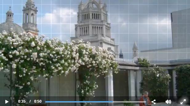 Your invitation to explore London's beautiful Ismaili Centre Roof Garden