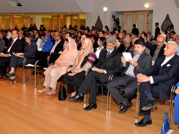 Dr. Amr Abdalla presents 2016 Milad un Nabi Lecture at Ismaili Centre, Toronto