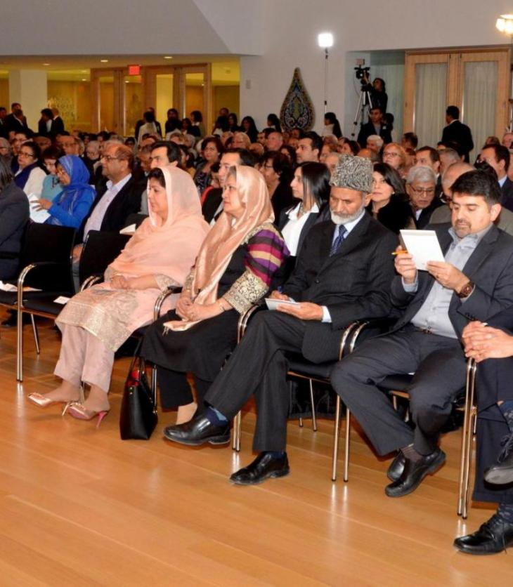 Dr. Amr Abdalla presents 2016 Milad un Nabi Lecture at Ismaili Centre, Toronto