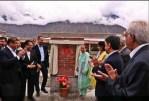Opening of the Aga Khan Medical Center Gilgit by Princess Zahra and Prince Rahim Aga Khan| Passu Times
