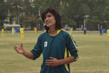 Pakistan's Diana Baig hunts for glory in cricket and football