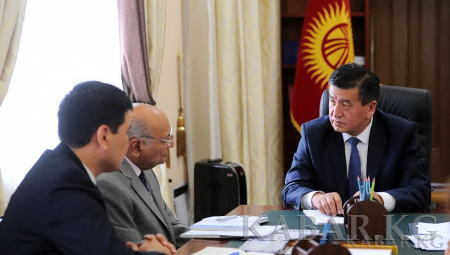 Kyrgyz Prime Minister and head of the AKDN representative in Kyrgyzstan discuss joint projects implementing in the country