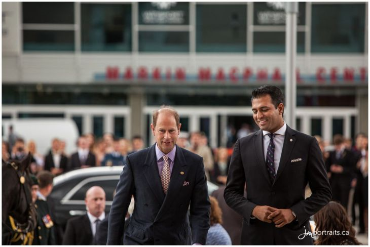 Al-Karim Khimji hosts His Royal Highness Prince Edward The Earl of Wessex for The Duke of Edinburgh's Gold Award Ceremony
