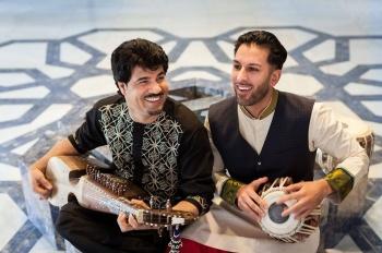 Leading Afghan Artists, Homayoun Sakhi and Salar Nader, in new Aga Khan Music Initiative performance at 2016 Smithsonian Folklife Festival