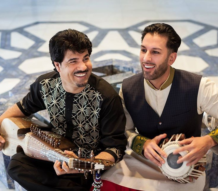 Leading Afghan Artists, Homayoun Sakhi and Salar Nader, in new Aga Khan Music Initiative performance at 2016 Smithsonian Folklife Festival
