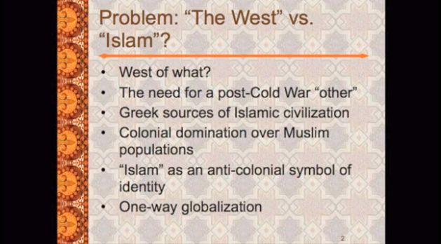 Professor Carl W. Ernst: Rethinking Islam in the Contemporary World