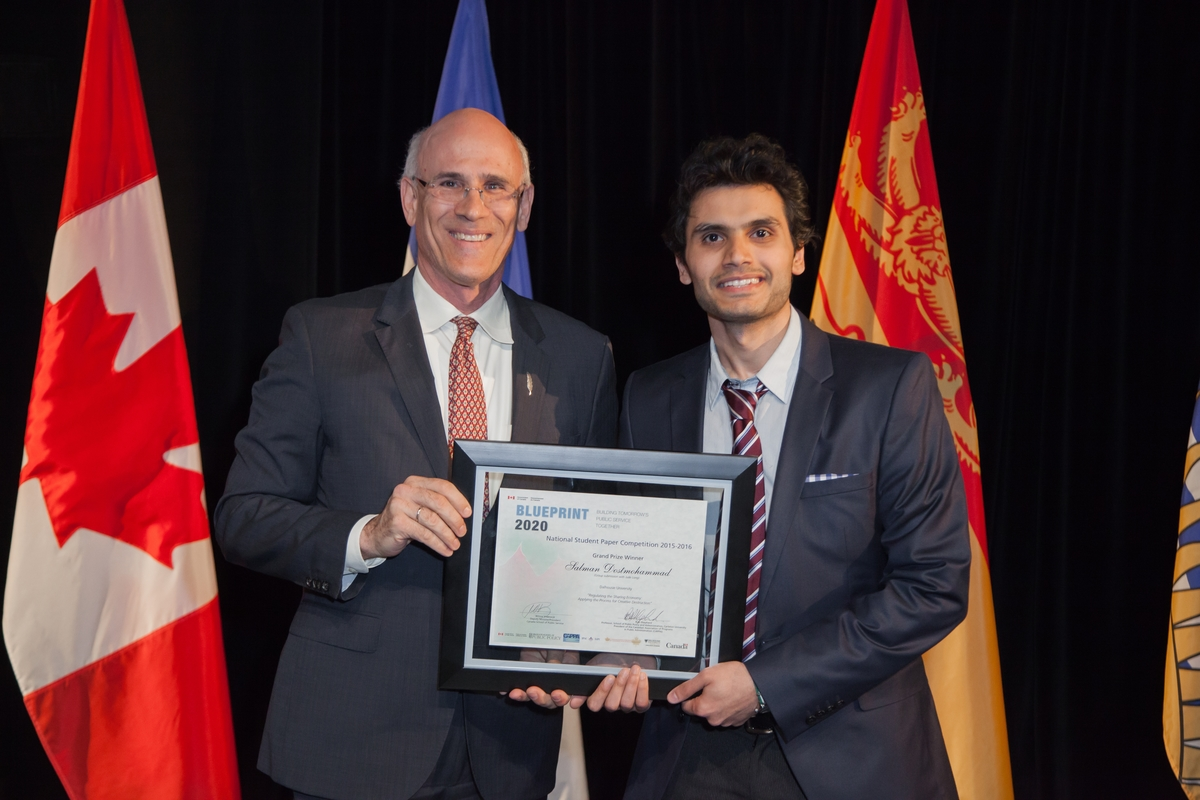 Salman dostmohammad wins blueprint 2020 grand prize award ismailimail malvernweather