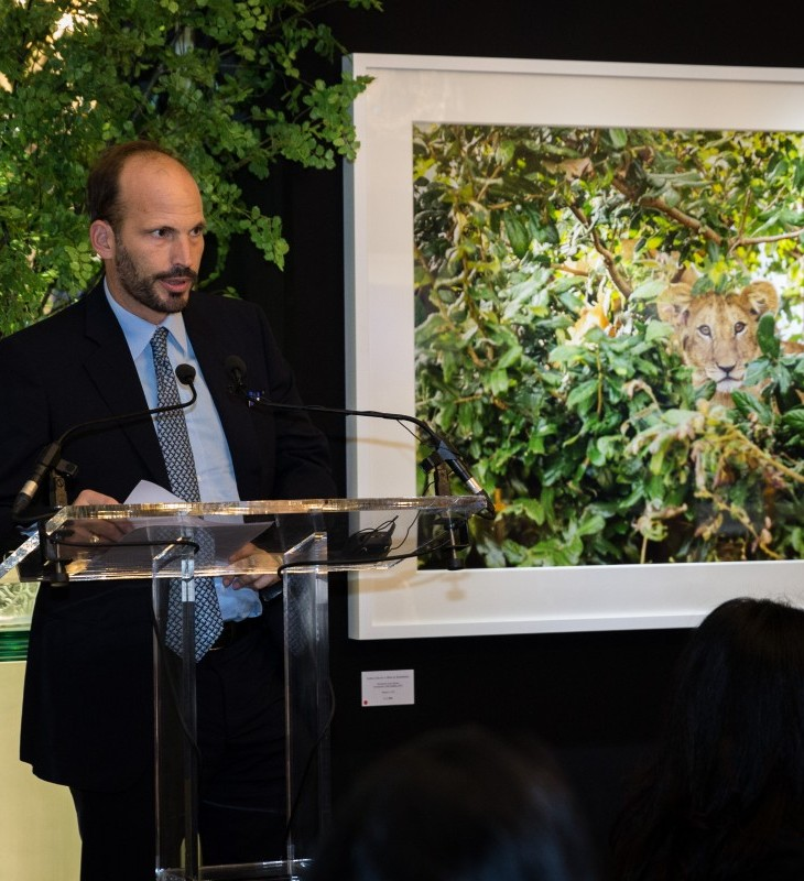 Prince Hussain announces launch of the Focused On Nature Fund (Image Credit: The Rumi Foundation)