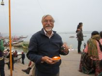 Amir in Varnasi, India
