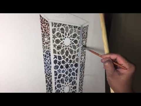 """Nizar MacNojia: Watch me paint """"The Fanous"""" in time-lapse video"""