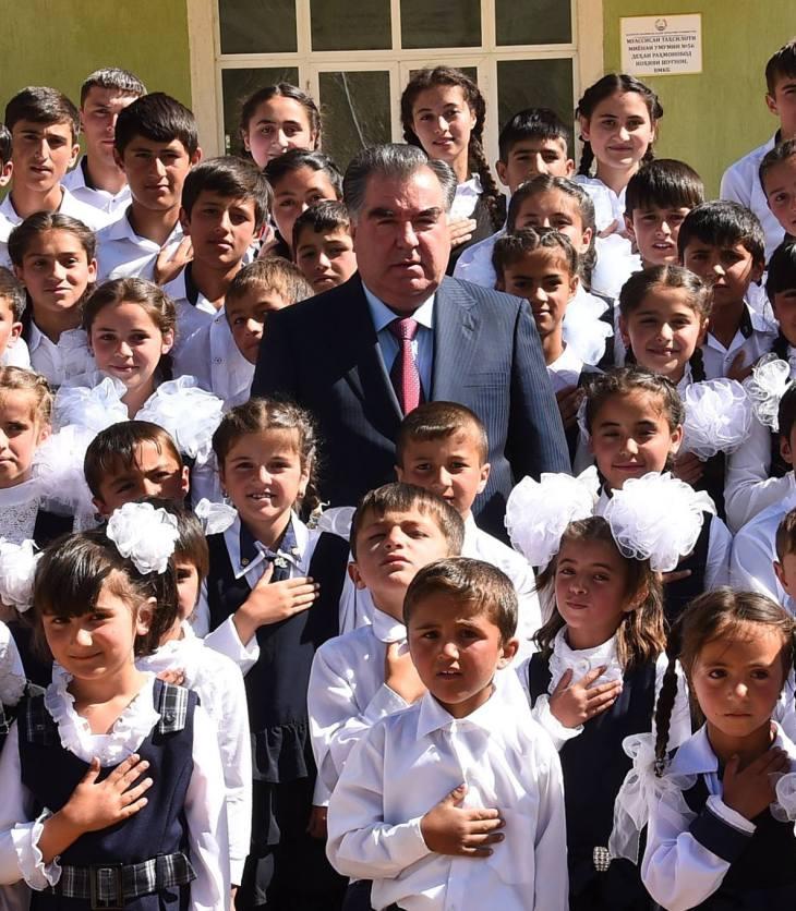 Tajikistan President Emomali Rakhmon inaugurates AKDN supported projects in Bartang Valley of Gorno-Badakhshan