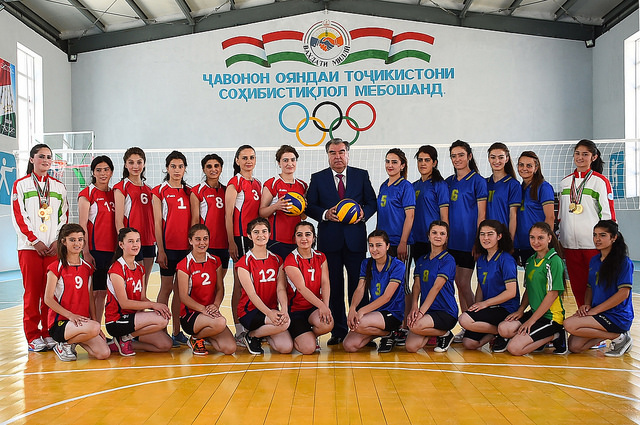 Tajiki Pres Emomali Rakhmon inaugurates AKF supported tourism, sports and culture facilities