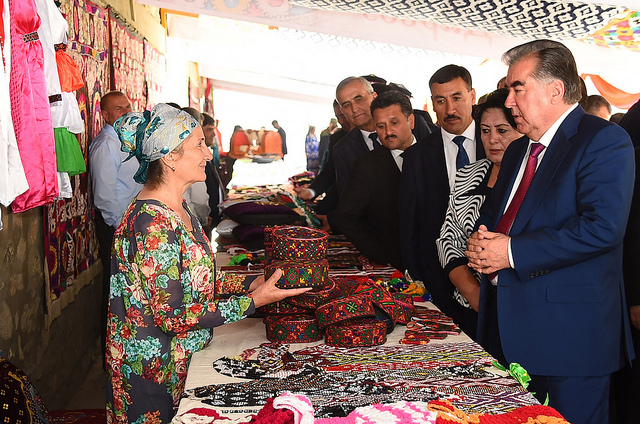 Tajiki Pres Emomali Rakhmon inaugurates AKF supported tourism, sports and culture facilities