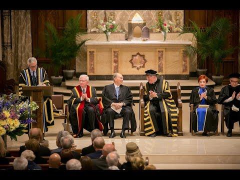 Pontifical Institute for Mediaeval Studies awards Mawlana Hazar Imam an honorary degree