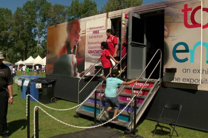 AKFC's 'Together' mobile exhibition on global change makes stop in Calgary