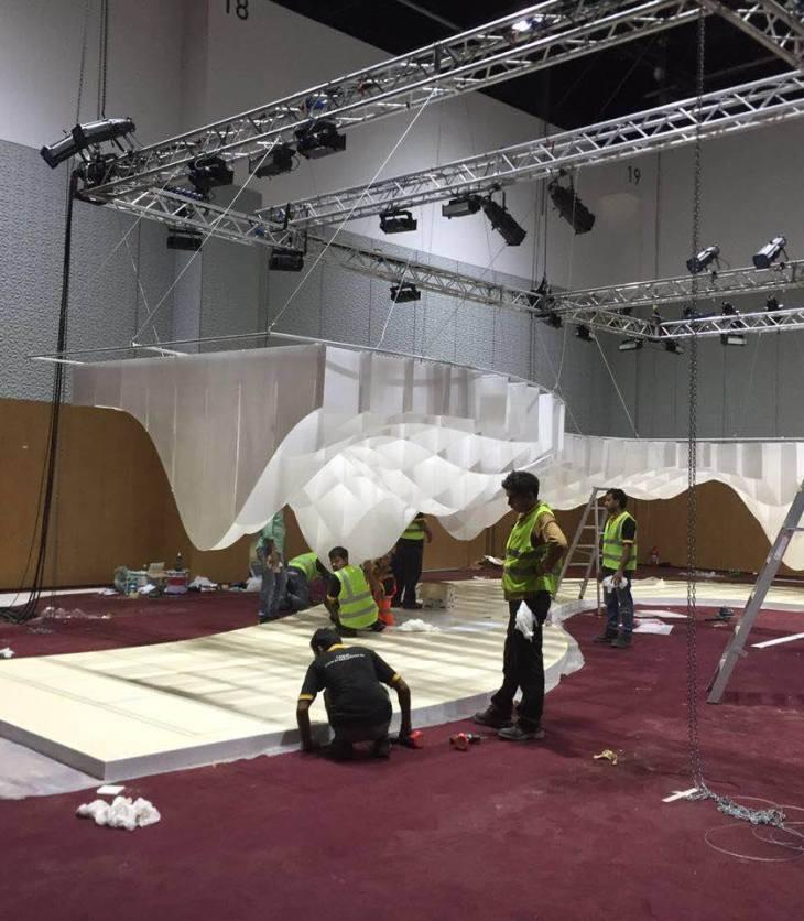Ismaili Games Dubai 2016 preparation volunteers