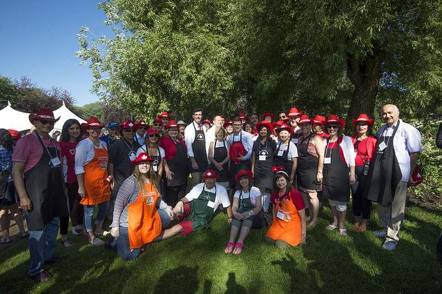 Premier of Alberta joins Aga Khan breakfast in Canada Day celebrations
