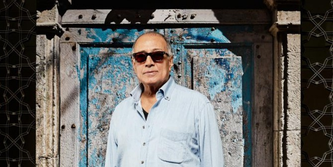 "Abbas Kiarostami in his installation ""Doors Without Keys"" at the Aga Khan Museum (Image credit: Aga Khan Museum)"