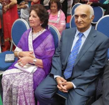 Abdul Rassul Ali Devji and wife Sakar