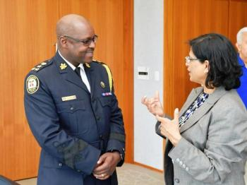 Toronto Police Chief visits The Ismaili Centre, Toronto & Aga Khan Museum