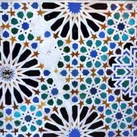 Geometric patterns in Islamic art emphasised unity and order