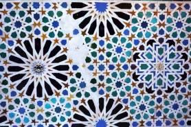 Tilework in the Mexuar, Alhambra, Spain. Image: Yannick Genin/Archnet