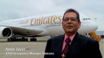 Amin Javer: Manager A380 Delivery Acceptance, Germany - Emirates Airlines