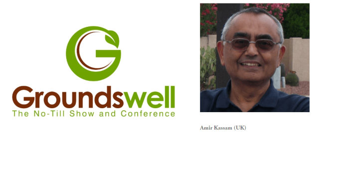 Professor Amir Kassam's Presentation: The No-Till Revolution - A Worldwide Phenomenon