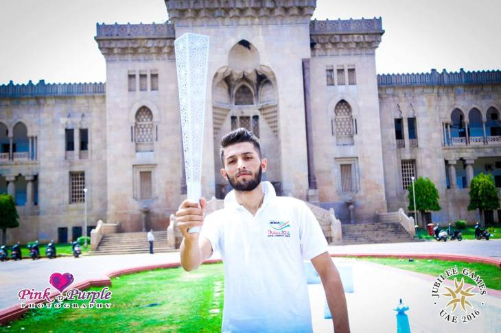 Ya Ali Madad! <br> I am Amroz Jumaev from Tajikistan Jamat. Currently I am studying in India. <br> With full of emotions and happiness I am saying that I am representing (International-Volleyball) Team India in Jubilee Games Dubai 2016. <br> My dream is to bring medal to India from Jubilee Games Dubai 2016.<br> (Image credit: Amroz Jumaev)