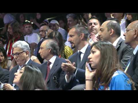 Video: Prince Rahim Aga Khan visits the Jubilee Games