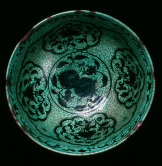Bowl, 15th century, Iran, Timurid period. The David Collection.