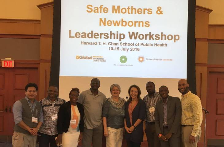 The Second Safe Mothers and Newborns Leadership Workshop