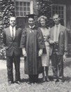 Mawlana Hazar Imam's Graduation from Harvard, 1959. Photo: 25 Years in Pictures