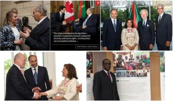 Social Media Report: Imamat Day wishes from Canadian Government Officials marking His Highness Prince Karim Aga Khan's 59 years of Imamat